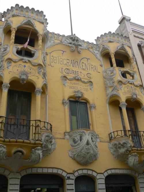 Foto del edificio Fotografía Central, estudio de Eugenio Courret en Lima - Perú. Foto por martin_javier