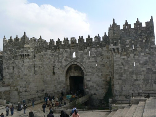 Fotos de la Puerta de Damasco en Jerusalem – Israel. Foto por martin_javier