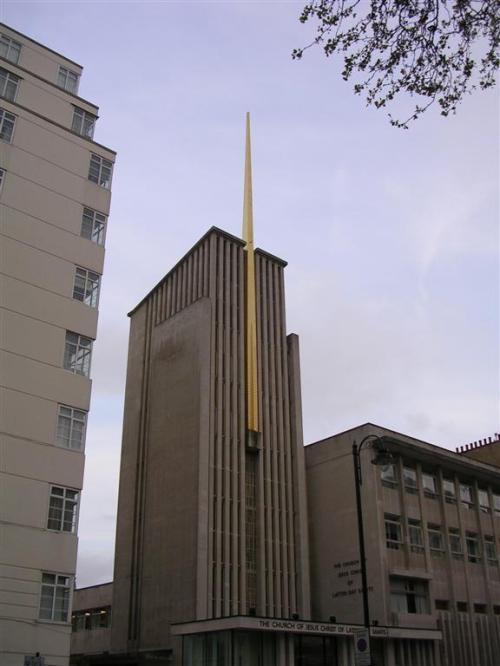 Fotos del edificio de la Iglesia de Jesucristo de los Santos de los Últimos Días en Londres - Inglaterra. Foto por martin_javier