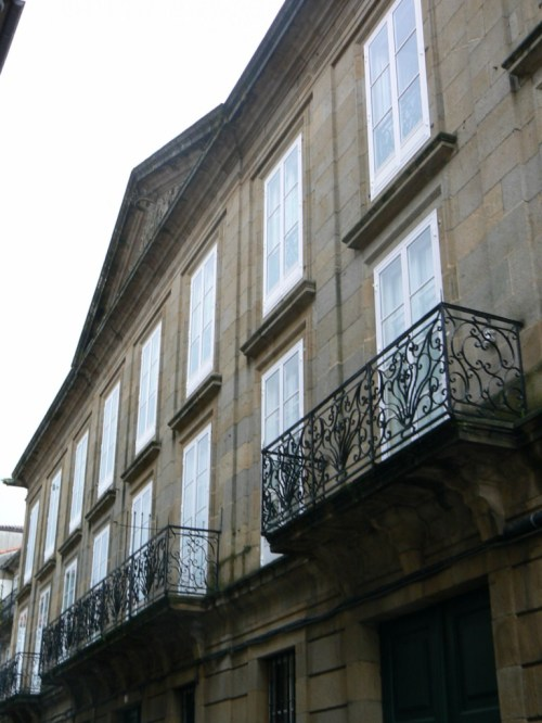 Fotos del Pazo de Santa Cruz en Santiago de Compostela - España. Foto por martin_javier