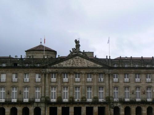 Fotos del Paxo de Raxoi en Santiago de Compostela - España. Foto por martin_javier