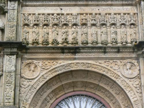 Fotos del Hostal de los Reyes Católicos en Santiago de Compostela - España. Foto por martin_javier