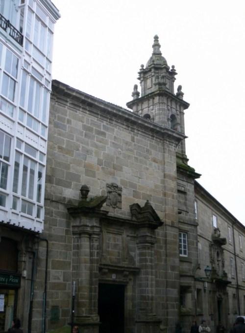 Fotos del Convento, Iglesia y Colegio das Orfas en Santiago de Compostela - España. Foto por martin_javier