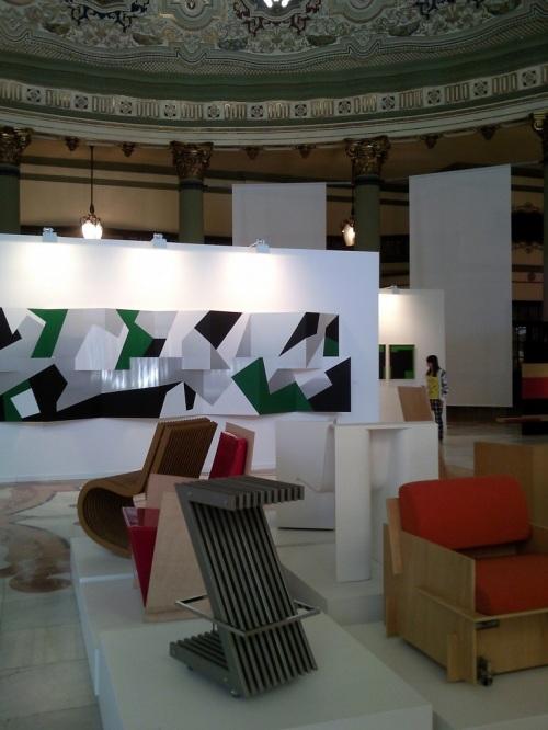 Fotos de la Exposición de Juan Serrano - Sevilla. Foto por martin_javier