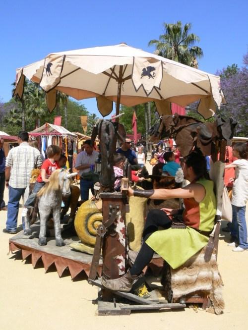 Fotos del Mercado Medieval de Sevilla 2010. Foto por martin_javier