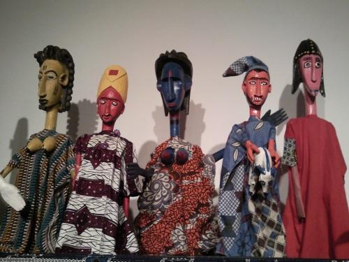 Fotos de la Exposición de Marionetas de Malí en Sevilla. Foto por martin_javier