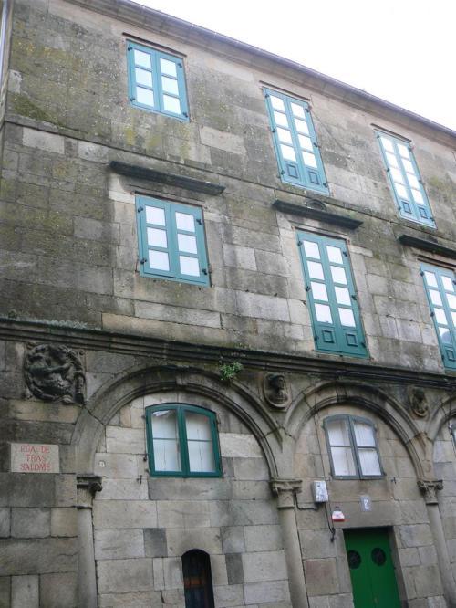 Foto de la Casa-pazo dos Fonseca en Santiago de Compostela - España. Foto por martin_javier