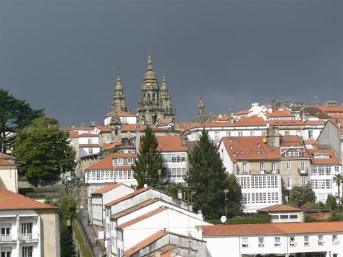 Fotos Vistas panorámicas de la Catedral de Santiago de Compostela - España. Foto por martin_javier