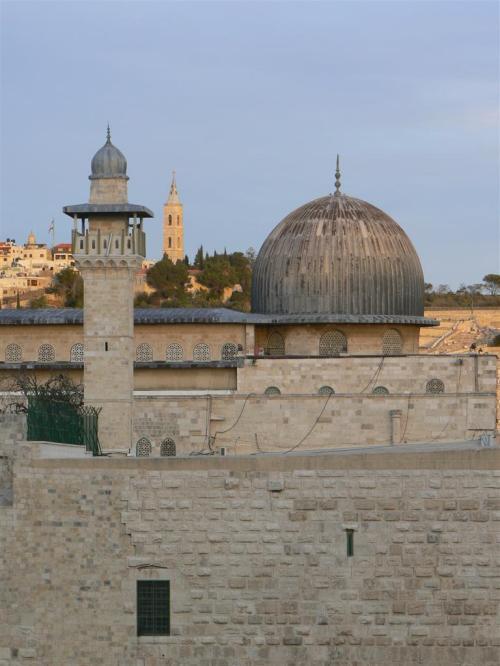 Foto de la Mezquita de Al-Aqsa en Jerusalem - Israel. Foto por martin_javier