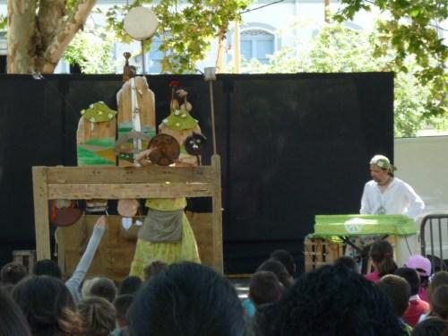 """Fotos del espectáculo """"no nos moverán"""" de la compañía Tirititeros de Binéfar en Sevilla. Foto por martin_javier"""