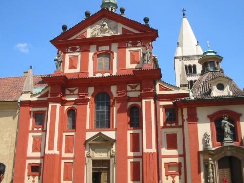 Foto del Monasterio de San Jorge en el Castillo de Praga - República Checa. Foto por martin_javier