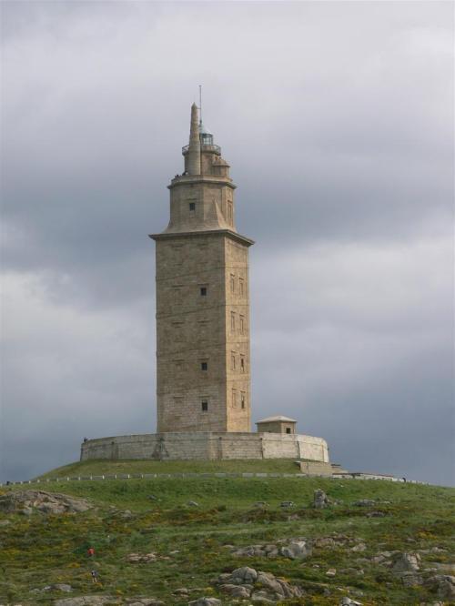 Fotos de la Torre de Hércules en A Coruña - España. Foto por martin_javier