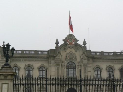 Fotos del Palacio de Gobierno del Perú (Casa del Gobierno o Casa de Pizarro) en Lima. Foto por martin_javier