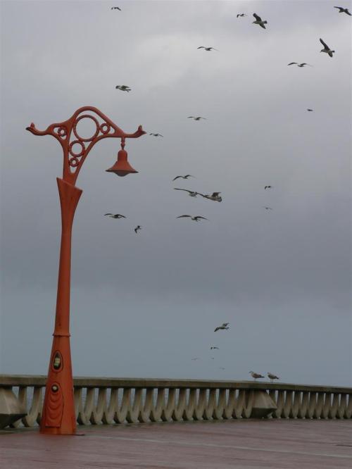 Fotos de las Farolas del Paseo Marítimo de A Coruña - España. Foto por martin_javier