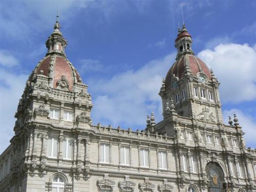 Fotos del Ayuntamiento de La Coruña - España. Foto por martin_javier