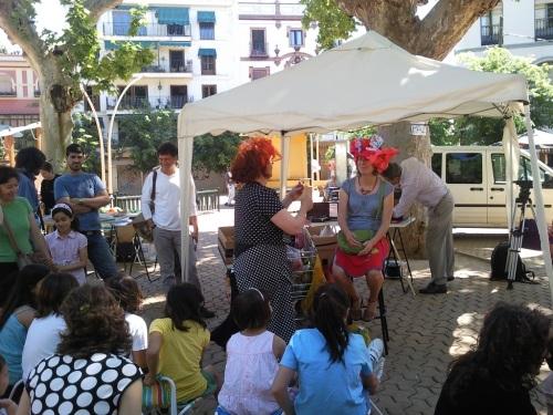 """Fotos del espectáculo """"Coup de Chapeau á... Sevilla"""" de la compañía Verónica de los Sombreros en Sevilla. Foto por martin_javier"""