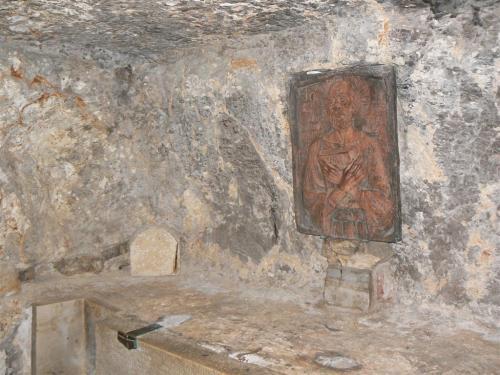 Fotos de las cuevas de la Iglesia de Santa Catalina en Belén - Palestina. Foto por martin_javier