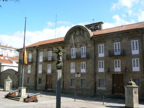 Foto del Palacio de Capitanía General en A Coruña - España. Foto por martin_javier