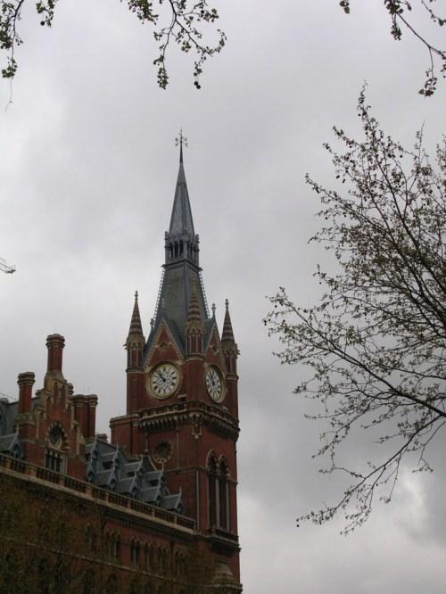 Fotos de la estación de ferrocarril de San Pancras en Londres - Inglaterra. Foto por martin_javier