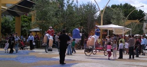 """Fotos del espectáculo """"La gran familia"""" de la Compañía Fadunito.com en Sevilla"""