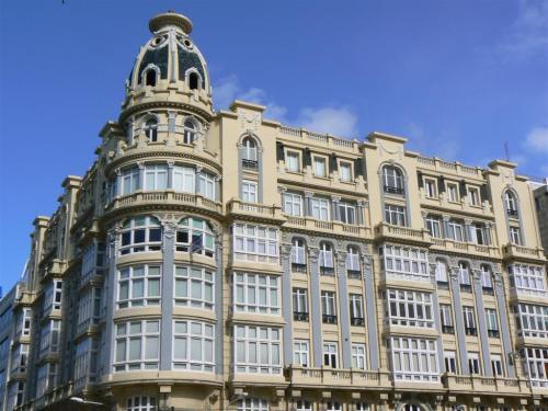 Fotos de edficios modernistas en A Coruña - España. foto por martin_javier