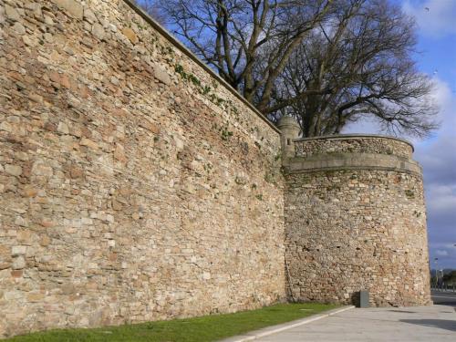 Foto de la muralla de A Coruña - España. Foto por martin_javier