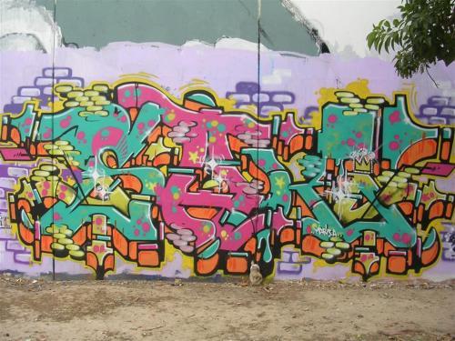 Foto Grafiti junio 2010. Foto por martin_javier