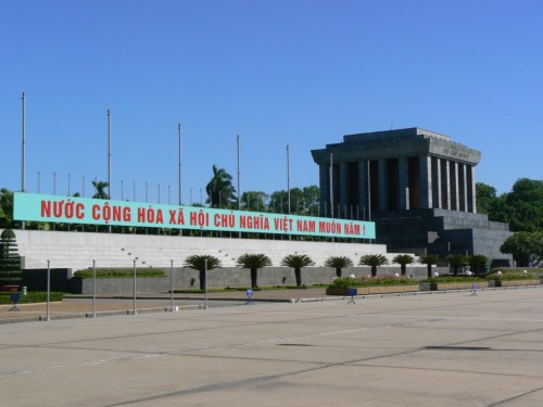 Fotos del Mausoleo de Ho Chi Minh en Hanói - Vietnam. Foto por martin_javier