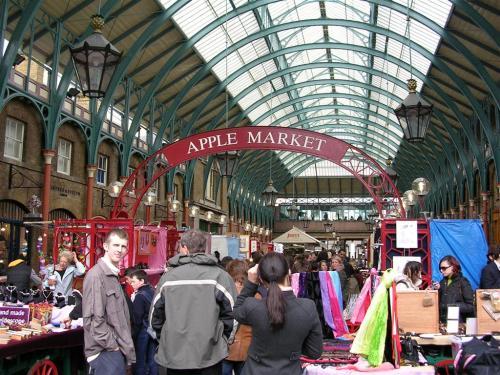 Fotos del Apple Market (Covent Garden) en Londres - Inglaterra. Foto por martin_javier