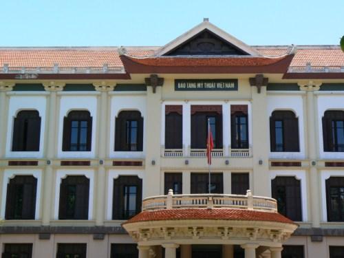 Fotos del Museo de Bellas Artes de Hanoi - Vietnam. Foto por martin_javier