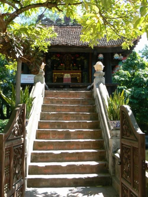 Fotos de la Pagoda del Pilar Único en Hanoi - Vietnam. Foto por martin_javier