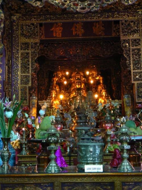 Fotos de la Pagoda Tran Quoc de Hanoi - Vietnam