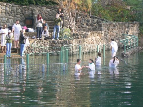 Fotos del Yardenit, lugar de Bautismo en el Río Jordán - Israel. Foto por martin_javier