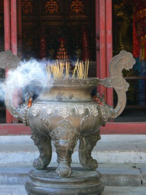 Fotos del Templo Ngoc Son de Hanoi - Vietnam. Foto por martin_javier