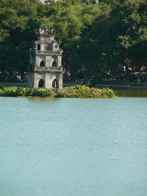 Fotos de Thap Rua - Torre de la tortuga de Hanoi - Vietnam. Foto por martin_javier