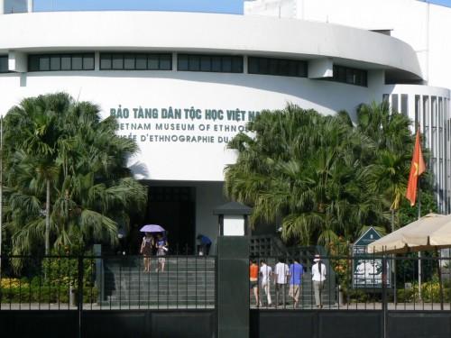 Fotos del museo de Etnografía del Vietnam en Hanoi. Foto por martin_javier