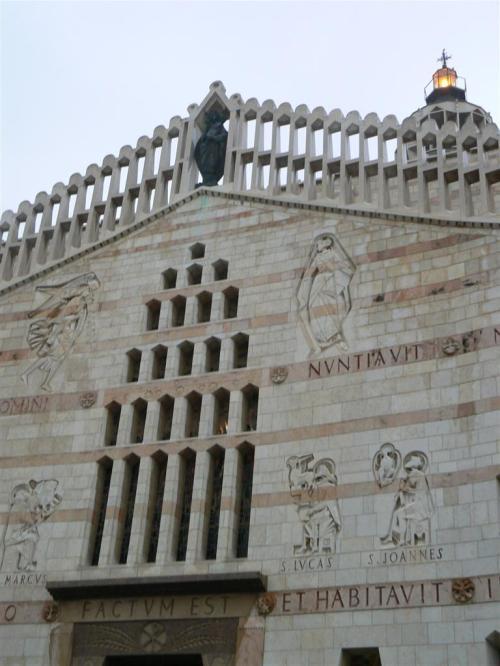 Fotos de la Iglesia - Basílica de la Anunciación en Nazaret - Israel. Foto por martin_javier