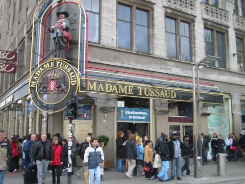 Fotos del Museo de Cera Madame Tussaud en Amsterdam - Holanda. Foto por martin_javier