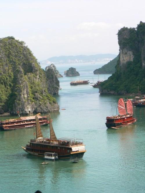 Fotos de la Bahía de Halong - Vietnam. Foto de martin_javier