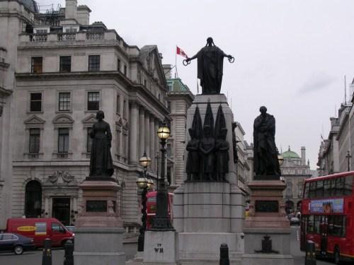 Foto de monumento Memorial de la Guerra de Crimea en Londres - Inglaterra. Foto por martin_javier