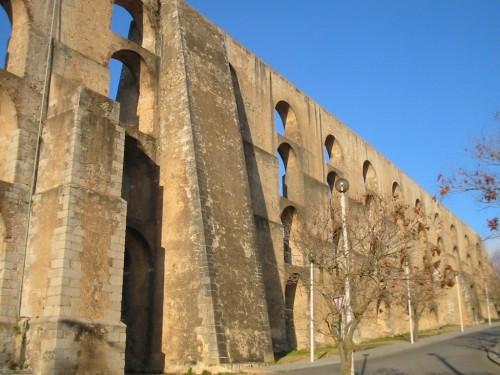 Fotos del Acueducto da Amoreira en  Elvas - Portugal. Foto por martin_javier