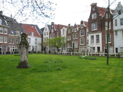 Fotos del Beginjnhof de Amsterdam - Holanda. Foto por martin_javier