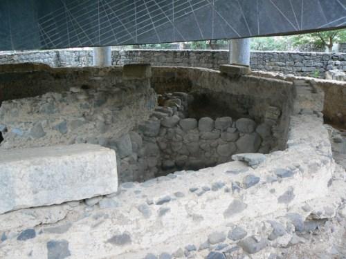 Fotos de la Casa de Pedro en Cafarnaúm - Israel. Foto por martin_javier