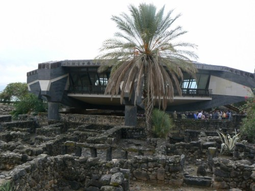 Fotos de la iglesia octogonal de Cafarnaúm - Israel. Foto por martin-javier