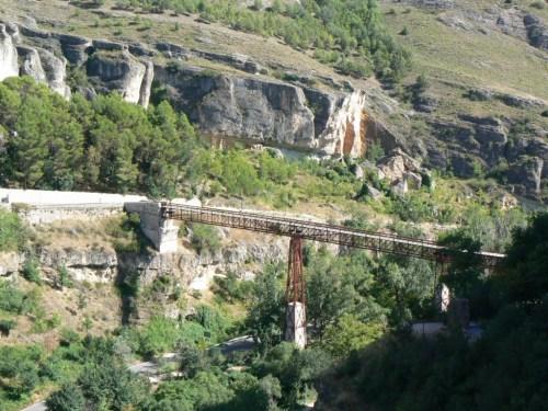 Fotos del Puente de San Pablo en Cuenca - España. Foto por martin_javier