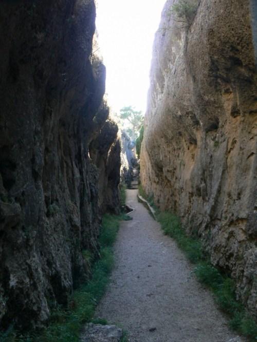 Foto de la figura Tobogán – Ciudad Encantada de Cuenca – España. Foto por martin_javier