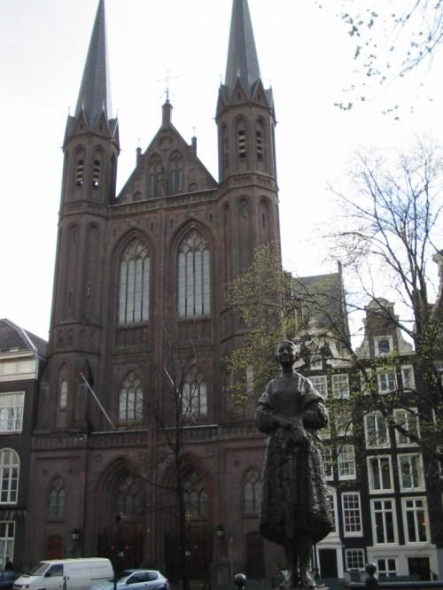 Foto de la iglesia católica De Krijtberg en Ámsterdam - Holanda. Foto por martin_javier