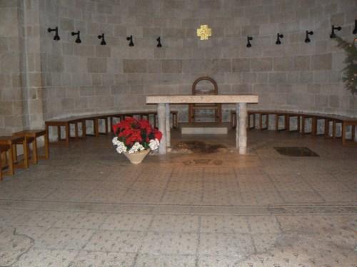 Fotos de Tabgha: La Iglesia de la Multiplicación de los Panes y los Peces - Israel. Foto por martin_javier