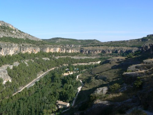 Fotos de la Hoz del Huércar y del Júcar a su paso por Cuenca - España. Foto por martin_javier