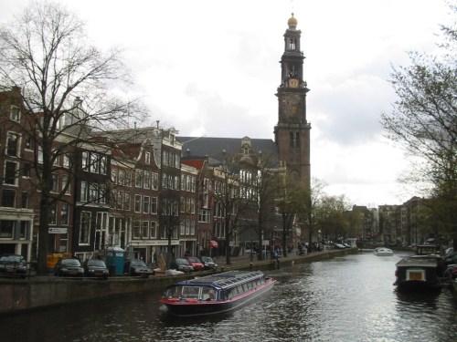 Fotos de la iglesia Westerkerk en Amsterdam - Holanda. Foto por martin_javier